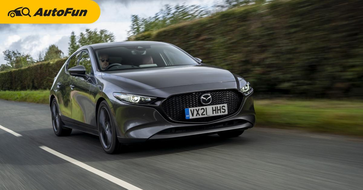 Mazda อัพพลังเครื่อง SkyActiv G ให้ Mazda 3 และ CX-30 ประหยัดขึ้น แรงกว่าเดิม แต่ในอังกฤษนะ 01