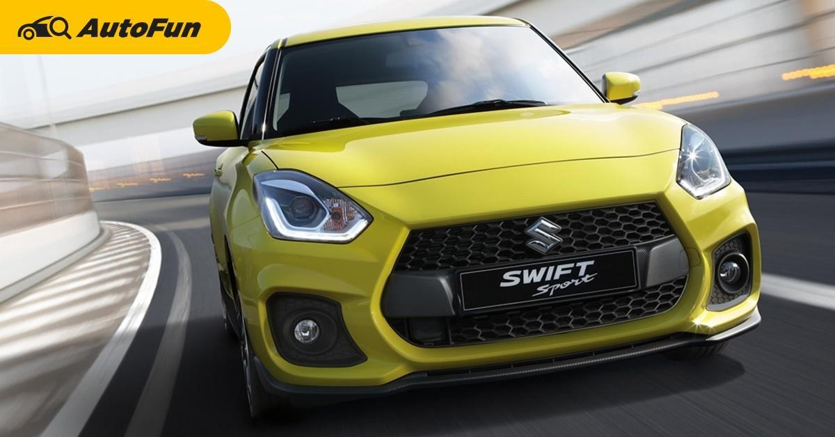 2021 Suzuki Swift Sport เปิดตัวพร้อมดิสทริบิวเตอร์ใหม่ในมาเลเซีย ไทยก็อยากได้แต่รอไปเถอะ... 01