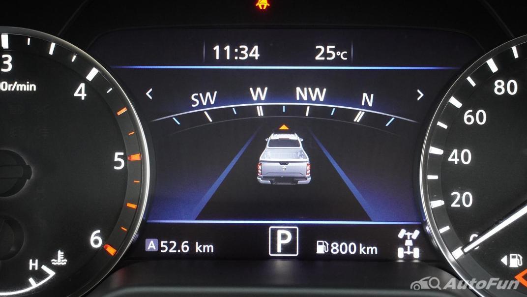 2021 Nissan Navara Double Cab 2.3 4WD VL 7AT Interior 013