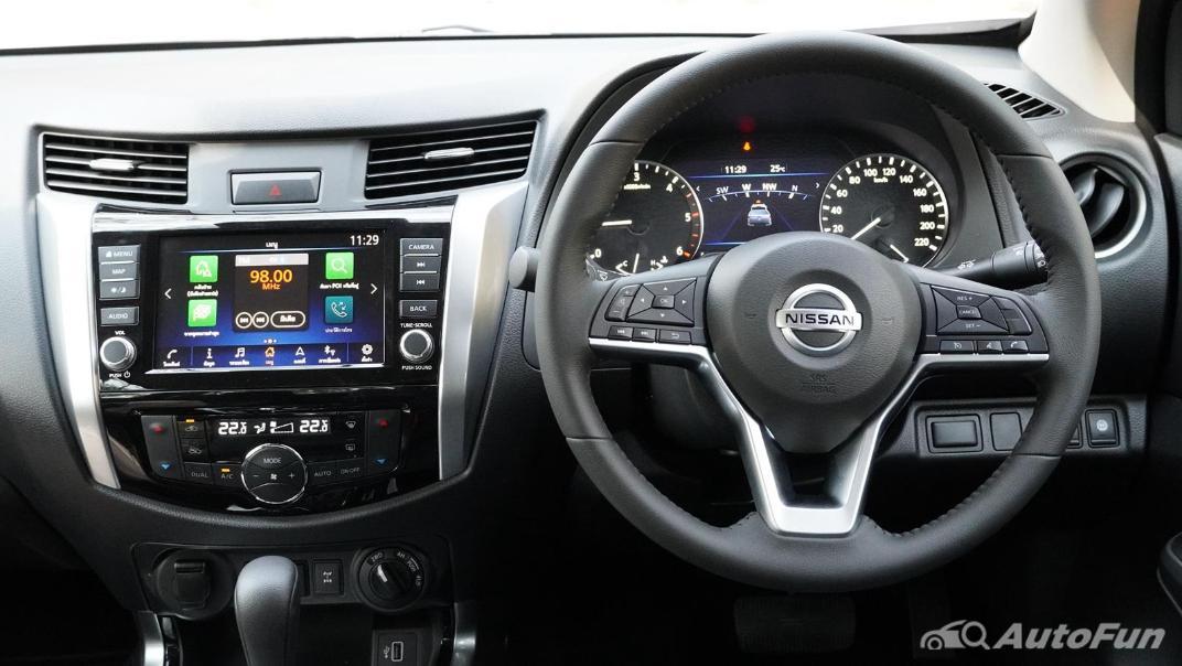 2021 Nissan Navara Double Cab 2.3 4WD VL 7AT Interior 003