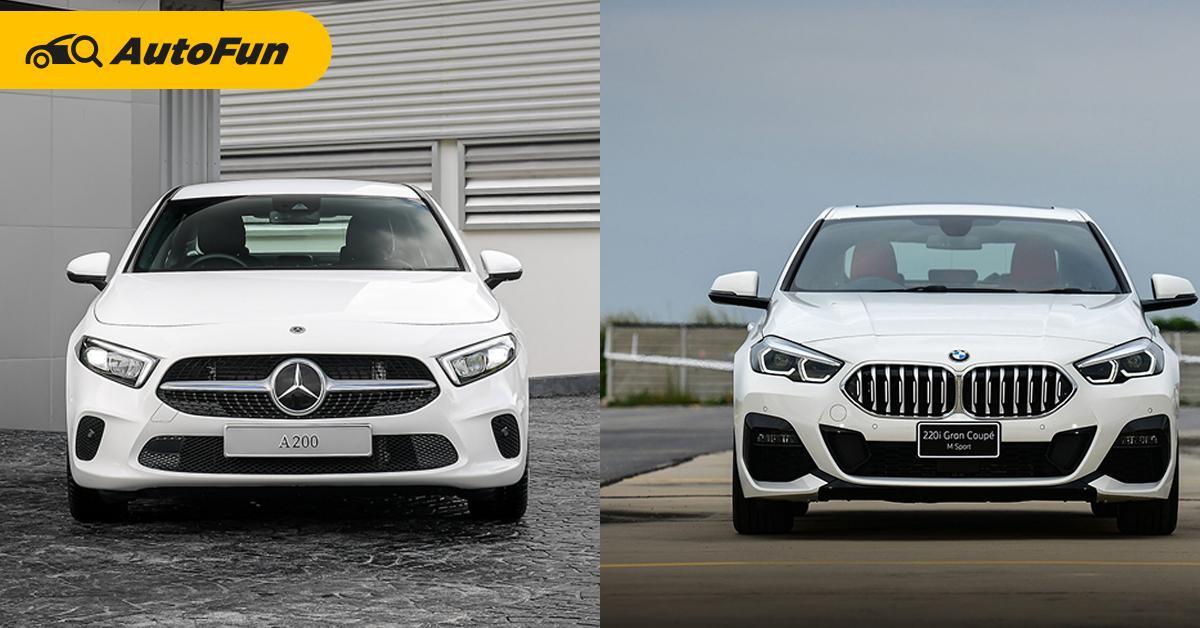 เทียบรถหรูรุ่นเล็กหลัก 2 ล้านบาท เลือก Mercedes-Benz A-Class หรือ BMW 220i Gran Coupe? 01