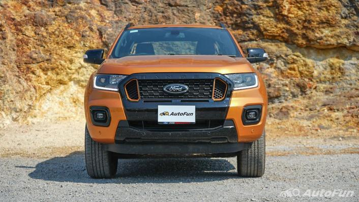 2020 Ford Ranger Double Cab 2.0L Turbo Wildtrak Hi-Rider 10AT Exterior 002