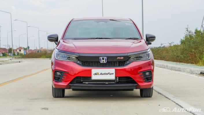 2021 Honda City e:HEV RS Exterior 002
