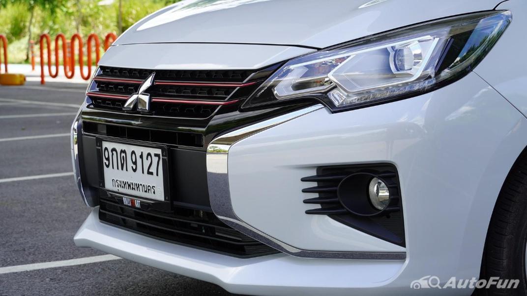 2020 1.2 Mitsubishi Attrage GLS-LTD CVT Exterior 018