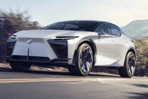 ยลโฉม Lexus LF-Z  รถยนต์ไฟฟ้า Lexus พลัง 500 กว่าแรงม้า คาดจะมาในปี 2025