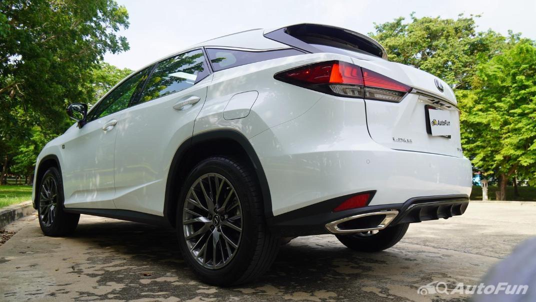 2020 Lexus RX 3.5 350 F Sport Exterior 032