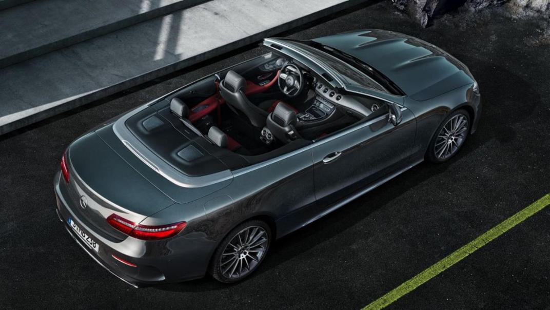Mercedes-Benz E-Class Cabriolet 2020 Interior 003