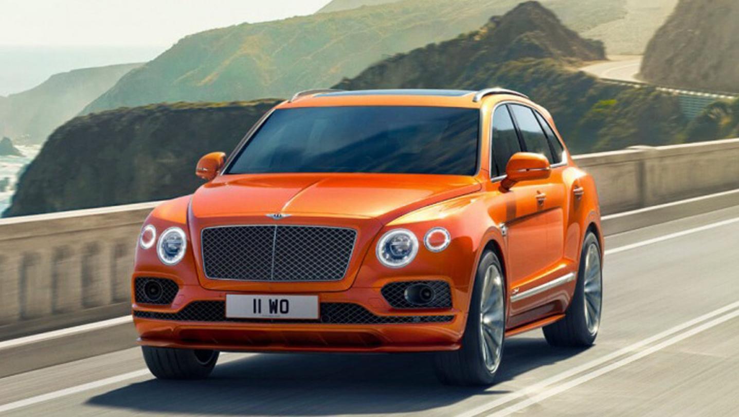 Bentley Bentayga 2020 Exterior 001