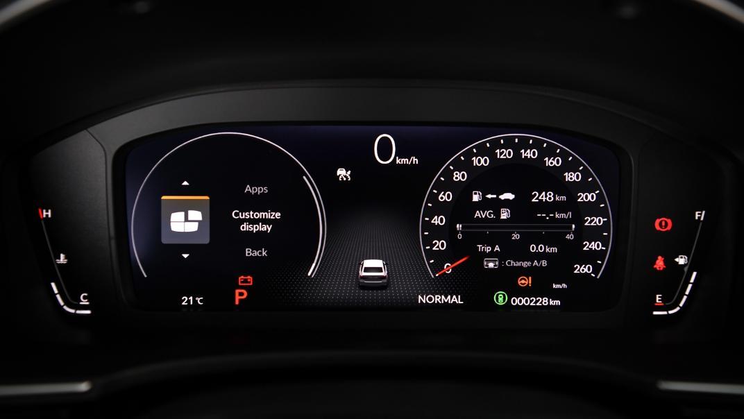 2022 Honda Civic RS Interior 033