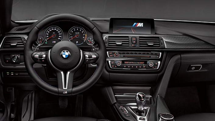 BMW M4-Coupe 2020 Interior 003