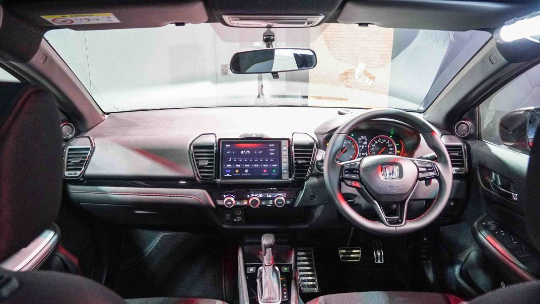 2021 Honda City Hatchback 1.0 Turbo RS Interior 012