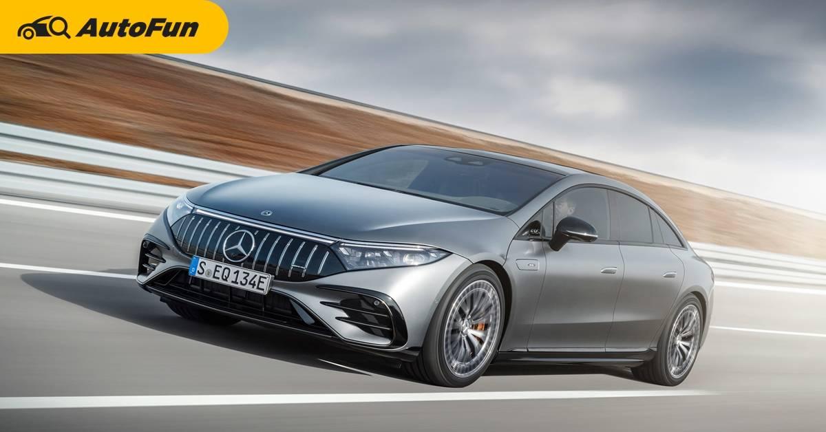 Mercedes-AMG EQS 53 ท้าตี Tesla Model ด้วย AMG Dynamic Plus เสริมความแรงอีก 100 แรงม้า 01