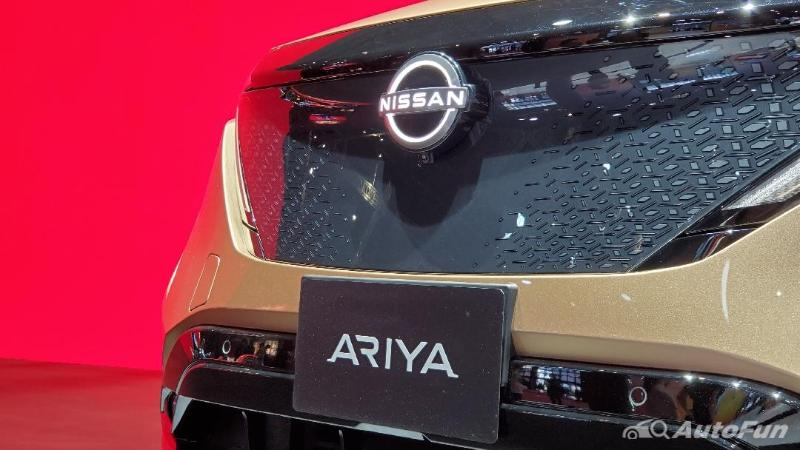 ชมคันจริง 2021 Nissan Ariya พลังไฟฟ้า 380 แรงม้า ชอบเหรอ..ยังไม่ขายนะ 02