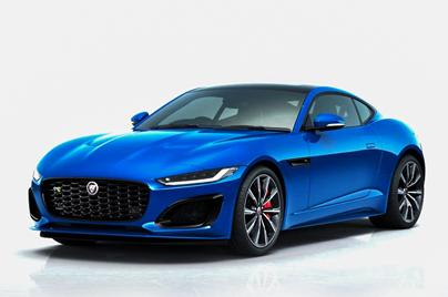 2020 2.0 Jaguar F-Type Coupe