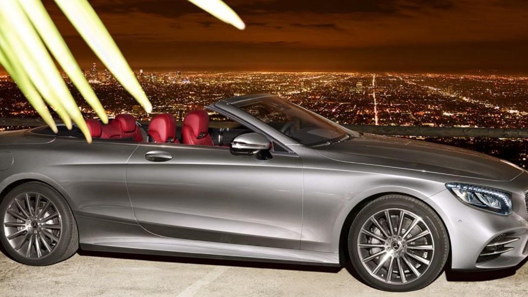 Mercedes-Benz S-Class Cabriolet 2020 Exterior 011