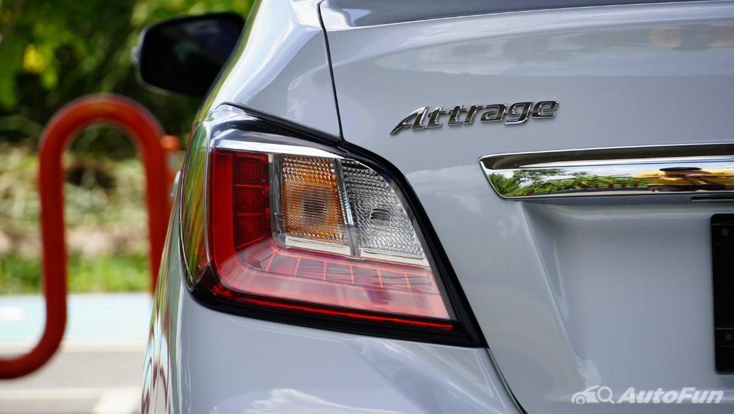 2020 1.2 Mitsubishi Attrage GLS-LTD CVT Exterior 038