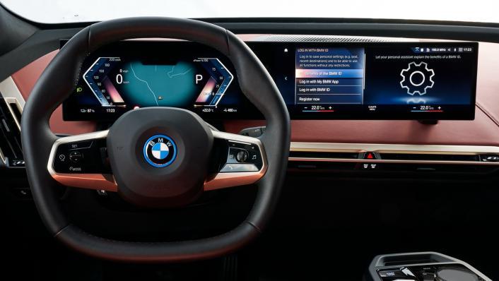2021 BMW iX xDrive50 Sport Interior 005