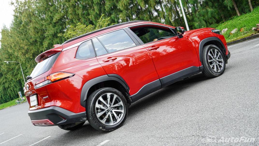 2020 Toyota Corolla Cross 1.8 Hybrid Premium Safety Exterior 052