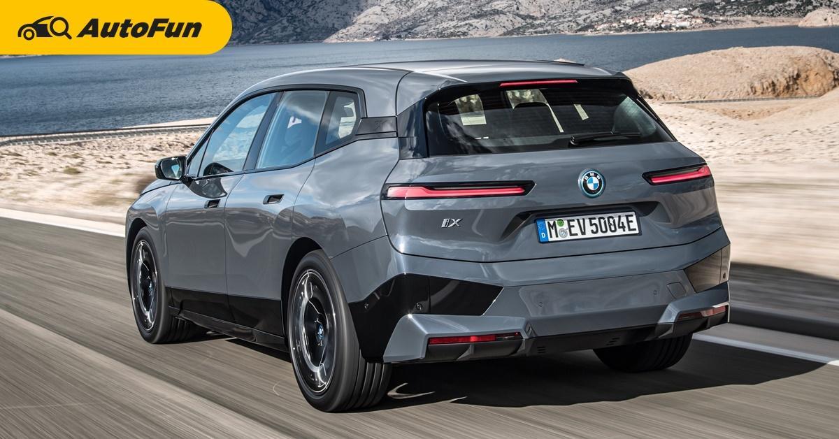 2021 BMW iX เอสยูวีไฟฟ้าขนาดเท่า X5 เตรียมเปิดตัวพรุ่งนี้ นำเข้าจากจีน คาดส่งมอบปลายปี 01