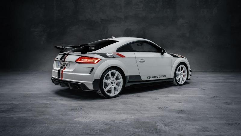 Audi TT RS 40 years of Quattro ฉลอง 40 ปีระบบขับเคลื่อนสี่ล้อของอาวดี้ จำกัด 40 คันเท่านั้น 02