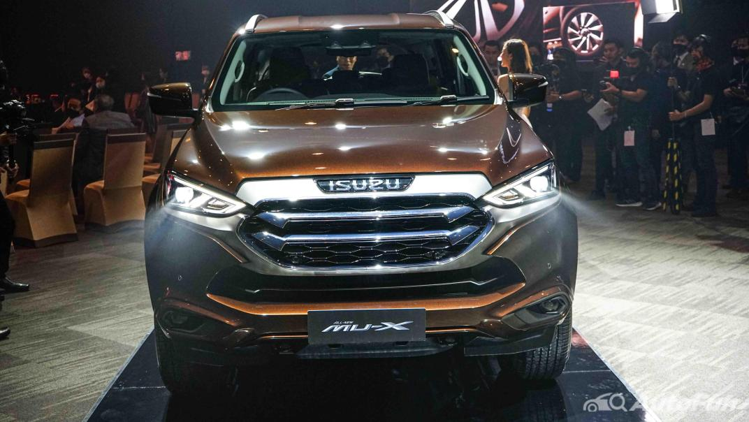 2021 Isuzu MU-X Ultimate 3.0 AT 4x4 Exterior 026