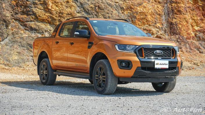 2020 Ford Ranger Double Cab 2.0L Turbo Wildtrak Hi-Rider 10AT Exterior 003