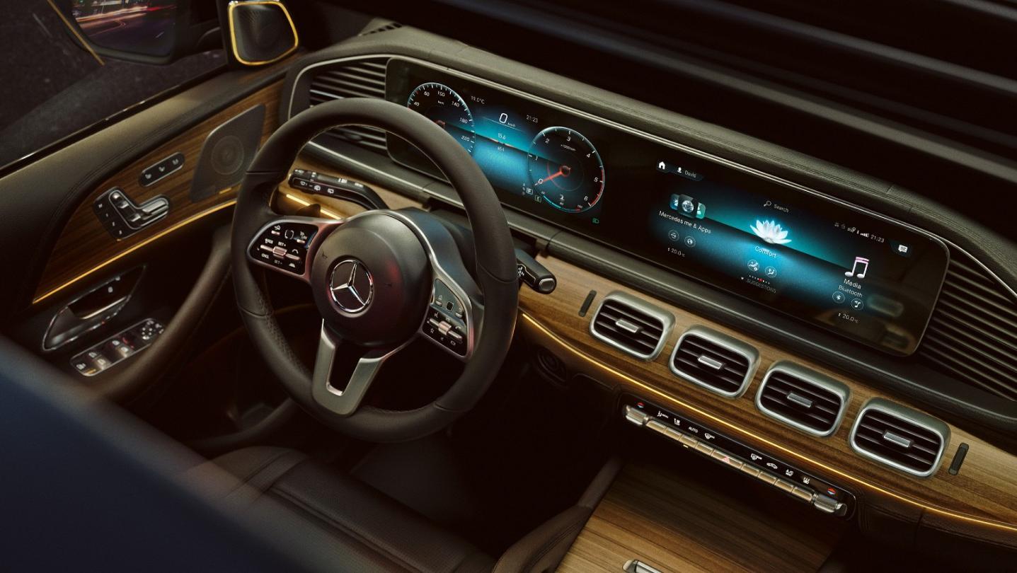 Mercedes-Benz GLE-Class 2020 Interior 014