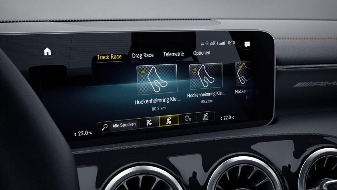 Mercedes-Benz CLA-Class 2020 Interior 010