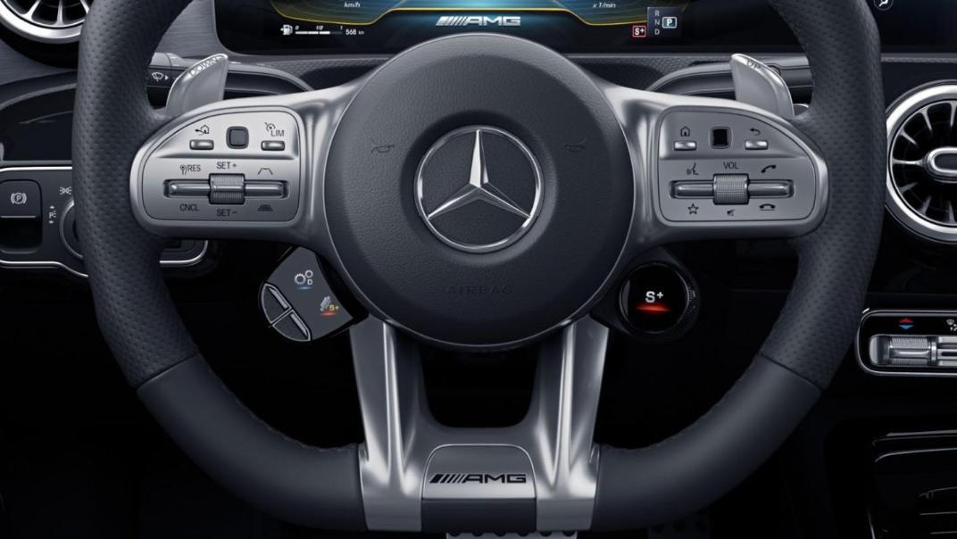 Mercedes-Benz CLA-Class Public 2020 Interior 007