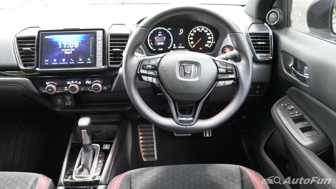 2021 Honda City Hatchback e:HEV RS Interior 002