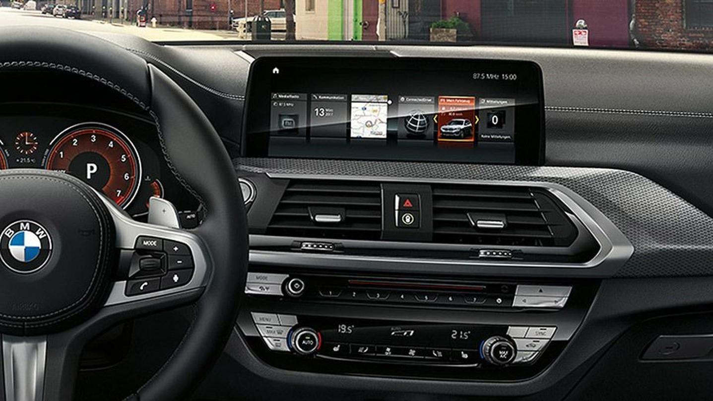 BMW X3 2020 Interior 002