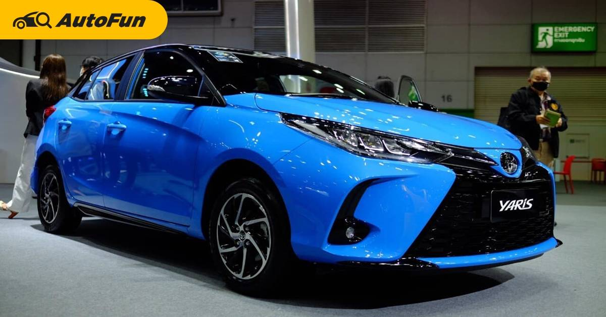 2021 Toyota Yaris หยุดแค่ Sport หรือไปต่อ Sport Premium เพิ่มเงินอีก 70,000 บาท 01