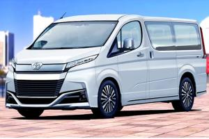2022 Toyota HiAce โฉมใหม่อาจหน้าตาแบบนี้ แถมมาพร้อมขุมพลังเซอร์ไพรส์!