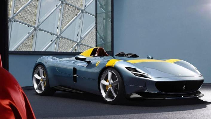 2020 Ferrari Monza SP1 V12 Exterior 006