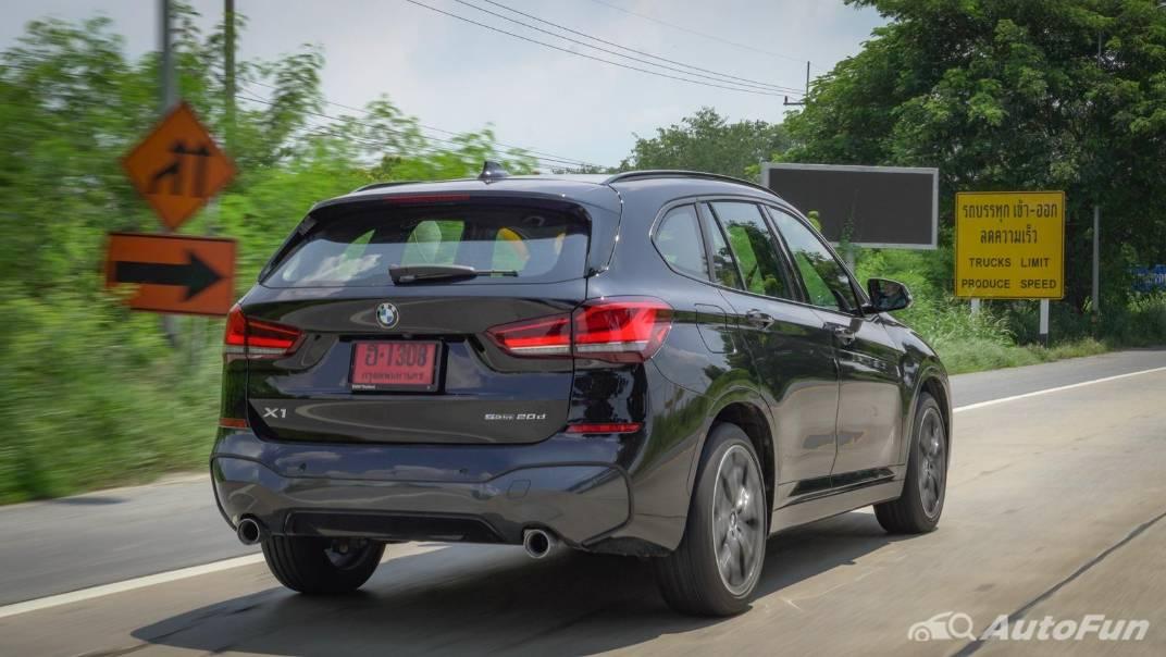 2021 BMW X1 2.0 sDrive20d M Sport Exterior 048