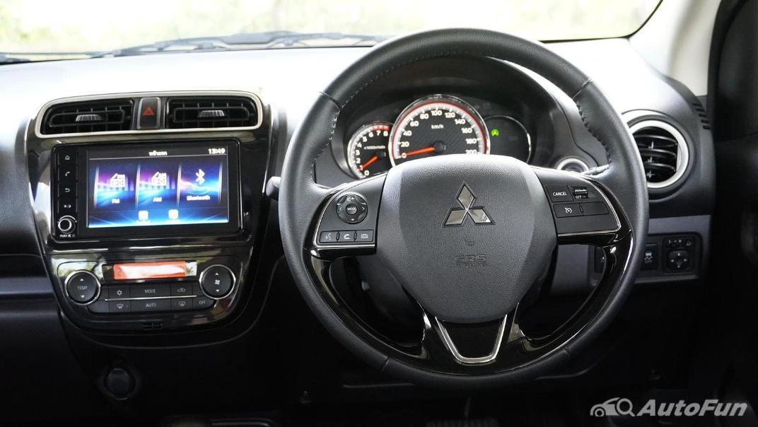2020 1.2 Mitsubishi Attrage GLS-LTD CVT Interior 004