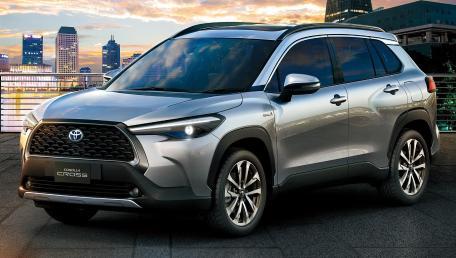 2021 Toyota Corolla Cross 1.8 Hybrid Premium ราคารถ, รีวิว, สเปค, รูปภาพรถในประเทศไทย | AutoFun