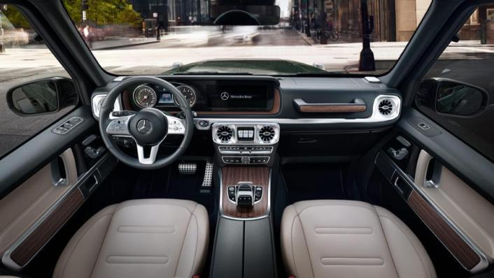 Mercedes-Benz G-Class Public 2020 Interior 001
