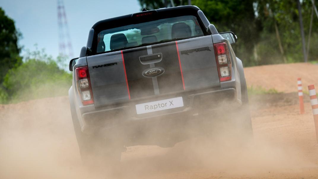 2021 Ford Ranger Raptor X Exterior 008