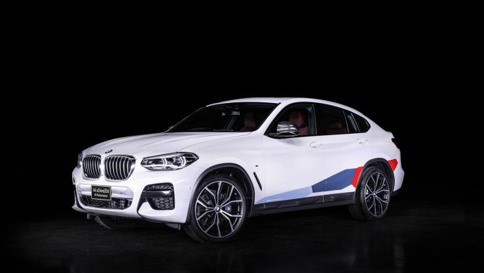 2021 BMW X4 xDrive20d M Sport X Exterior 001
