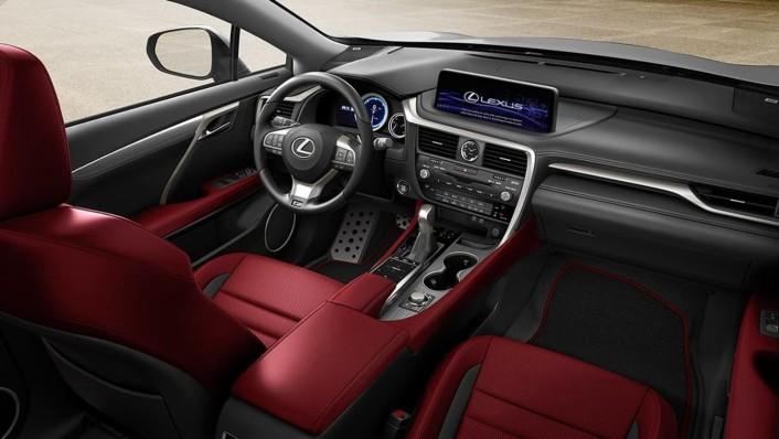 Lexus RX 2020 Interior 001