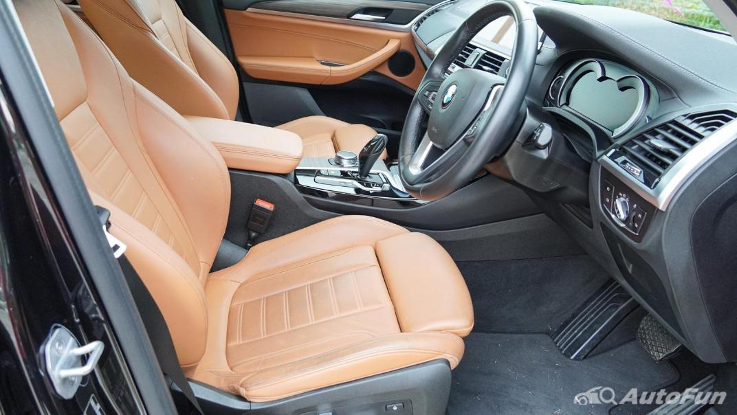 2020 2.0 BMW X3 xDrive20d M Sport Interior 046