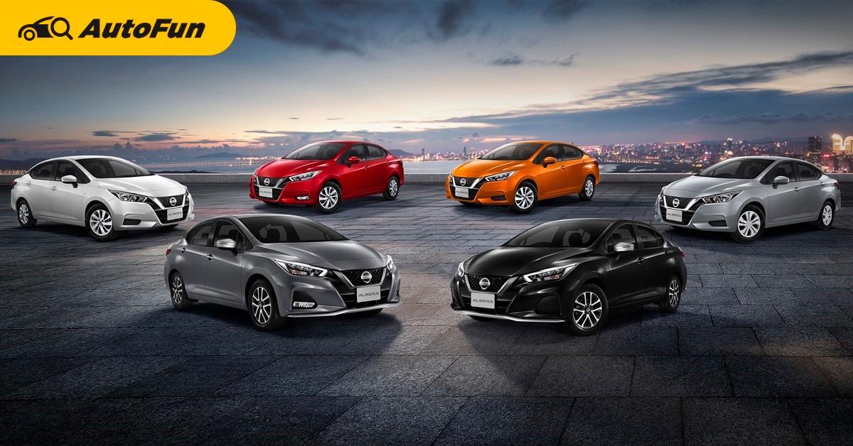 2021 Nissan Almera Sportech เติมความสปอร์ต อัพค่าตัว 2 หมื่นบาท หวังแบ่งตลาด Yaris ATIV และ City 01