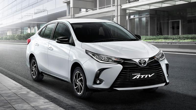 เทียบสเปก 2020 Toyota Yaris Ativ Sport Premium วัดมวย 2019 Nissan Almera VL CVT 02