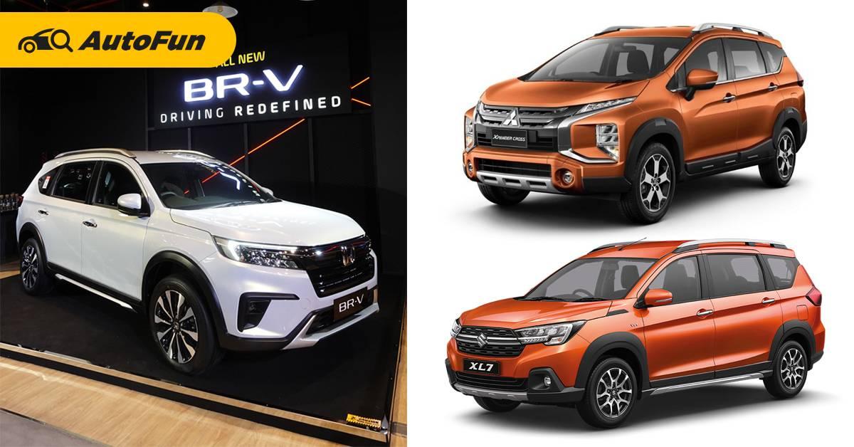 2022 Honda BR-V มาแบบนี้ Mitsubishi Xpander Cross และ Suzuki XL7 เดือดร้อน! 01