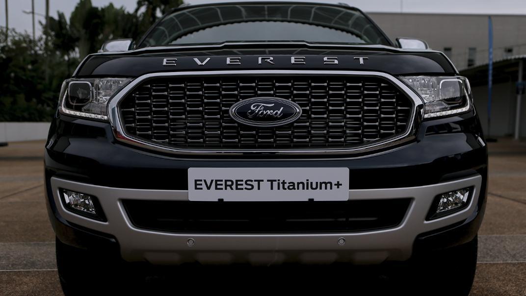2021 Ford Everest Titanium+ Exterior 021