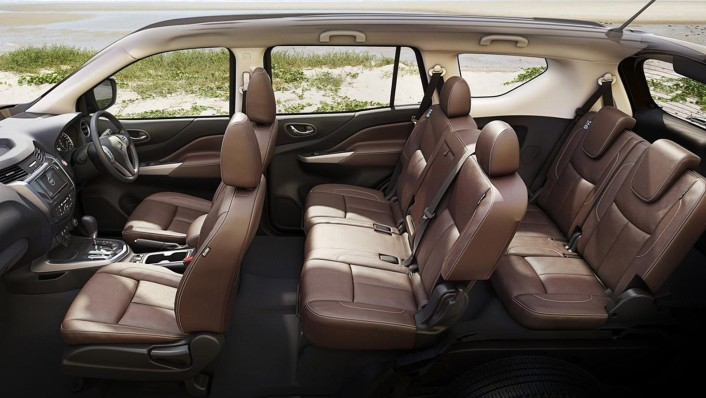 Nissan Terra 2020 Interior 002