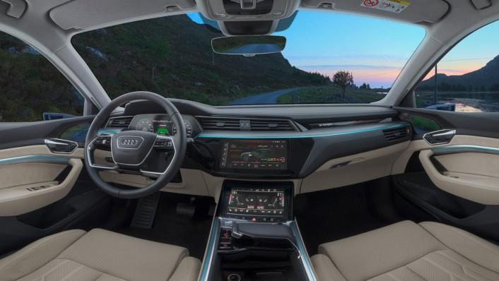 Audi E Tron 2020 Interior 001