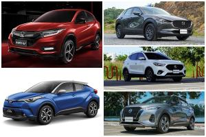 Honda HR-V งัดโปรลด 150,000 บาทสู้ศึกครอสโอเวอร์ Toyota C-HR รับประกันไฮบริด 5 ปี