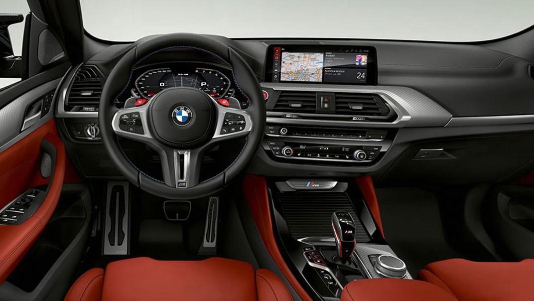 BMW X4-M Public 2020 Interior 002